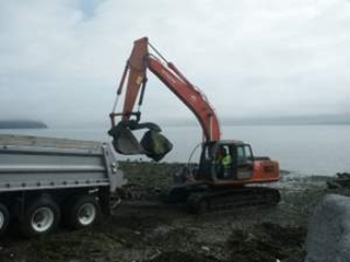 Northeast March's Point Boat Ramp Groin Removal